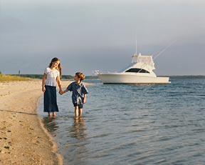Cape Cod photo of children boating